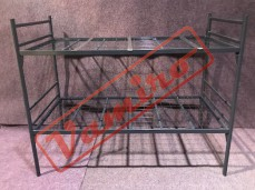 Patrová kovová postel -  palanda - Prodej kovové palandy - černá barva - nová<br />
