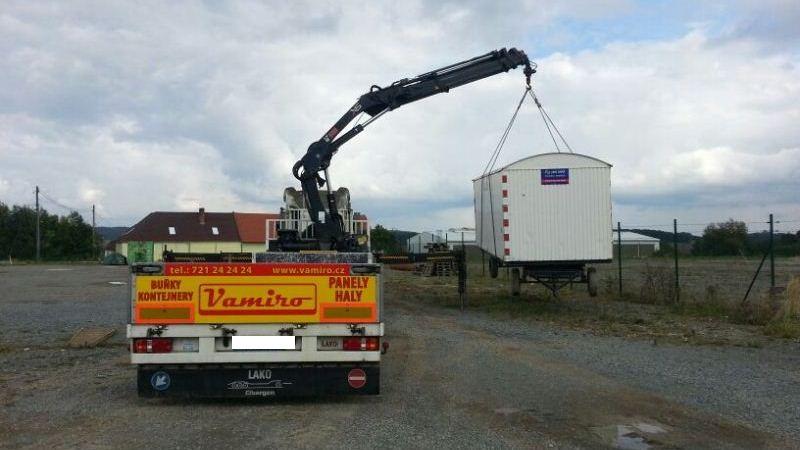 doprava kontejnerů a buněk Vamiro